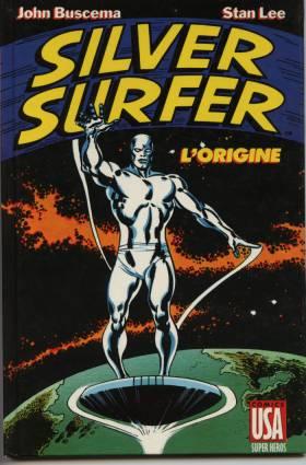 Les Origines du Surfer d'Argent affiche